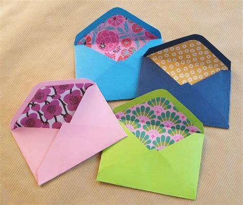 como hacer sobres para dinero c 243 mo hacer sobres de papel manualidades