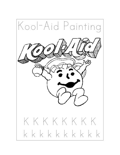 Kool Aid Coloring Pages kool aid coloring pages coloring pages