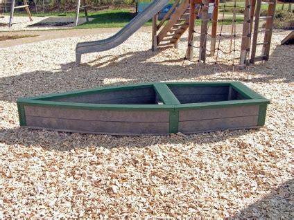 boat shaped childrens bed children s recycled plastic adventure ship sand box