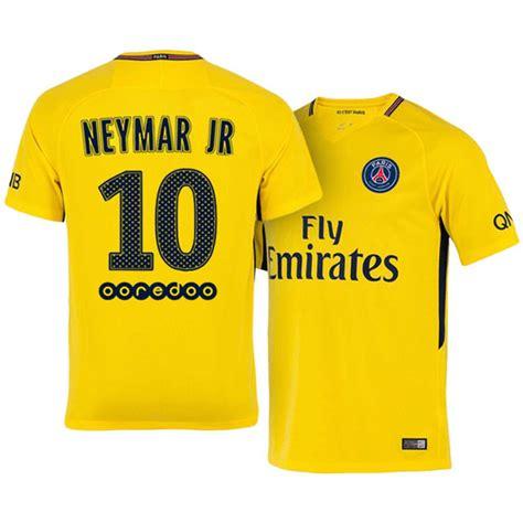 Jersey Bola 10 Neymar Psg Home 2017 2018 Grade Ori S M L Xl jersey playera germain psg 2017 2018 neymar