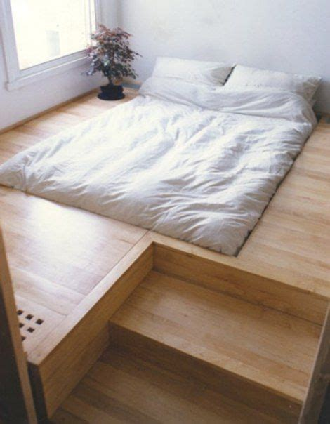 beds on the floor anyone have their bed on the floor like this