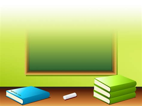 background design book books and pencils back to school ppt backgrounds