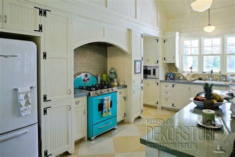 vintage kitchen design ideas eatwell101 retro tarzı mutfak modelleri 2014 dekorstore 169 2016