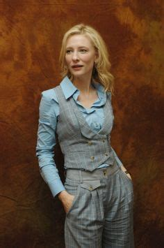 Get The Look Cate Blanchetts Feathered Tresses 2 by I Liked Kristen Bell S Wardrobe In The When In Rome