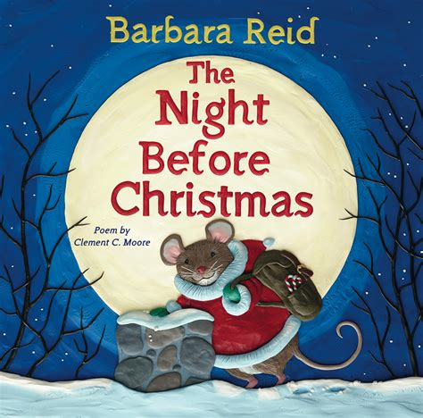 the night before christmas barbara reid s the night before christmas connect weekly
