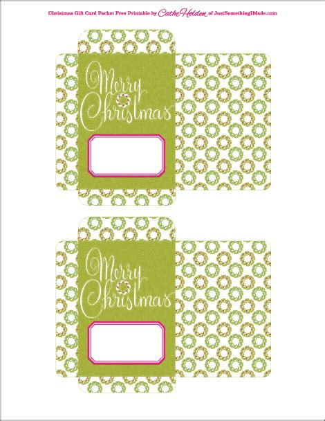printable christmas gift card holder template craftdrawer crafts make last minute gift card holders