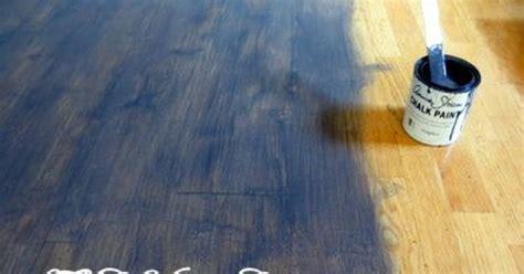 How to Chalk Paint Wood Laminate Floor   Hometalk