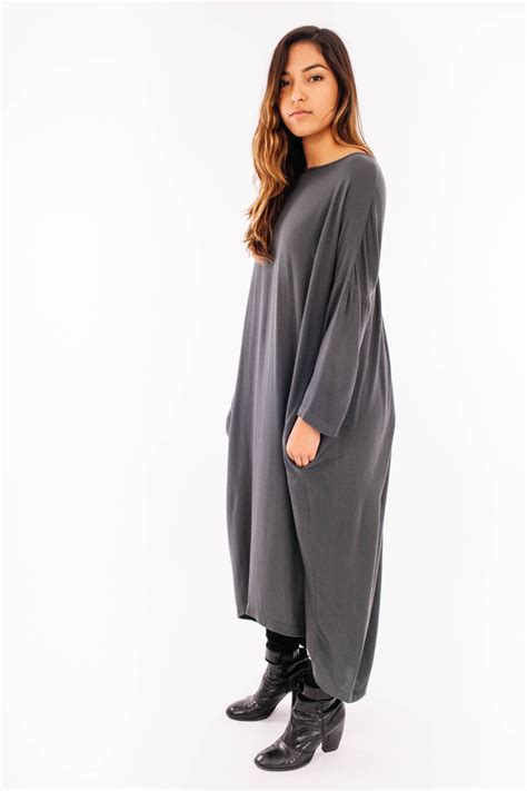 Pleated Dress 16091 Black black crane pleated cocoon dress shadow garmentory