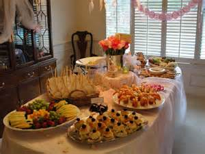 butler for hire catering food baby shower