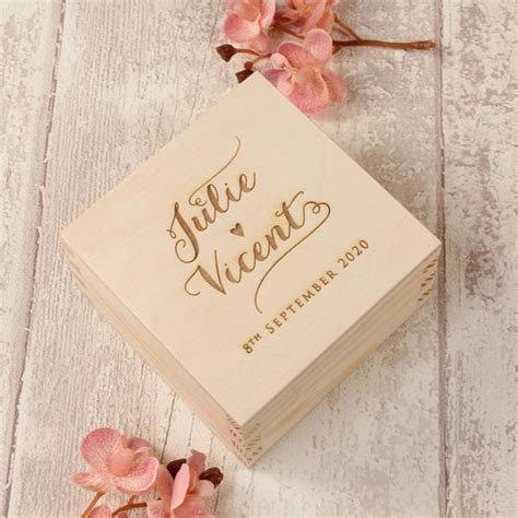 Wedding Ring Box Design by Calligraphy Wooden Wedding Ring Box Design 5 Cartalia
