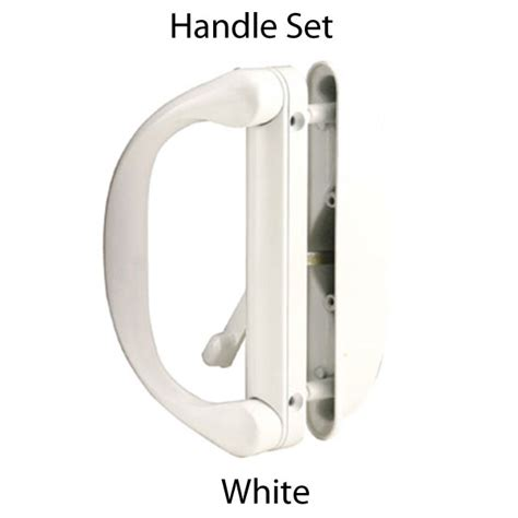Sliding Patio Door Handles   White Sliding Door Handle