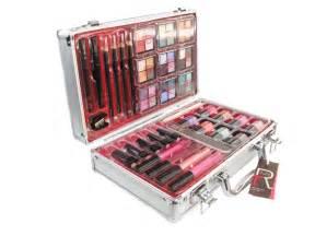 Girls Makeup Vanity Set Cosmetic Vanity Case 36 Piece Beauty Train Box Make Up