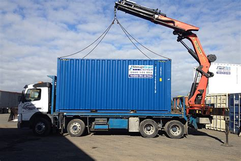 storage container transport shipping container transport storage depot