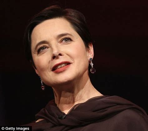 isabella rossellini: 'vogue gives fashion advice to young
