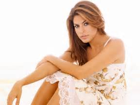 Trees White Flowers - eva mendes actress pictures