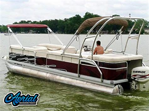tracker boats wiki pontoon boat with wake tower wiki