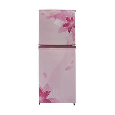 Kulkas Sharp 2 Pintu Pink jual sharp sj236ndfp kulkas pink 2 pintu khusus
