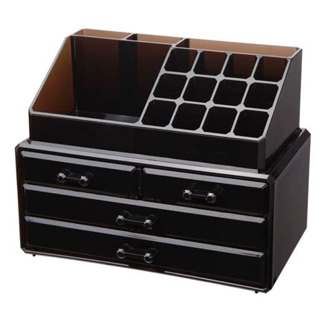 See Through Makeup Drawers by New Transparent Makeup Cosmetics Drawers Grids See Through