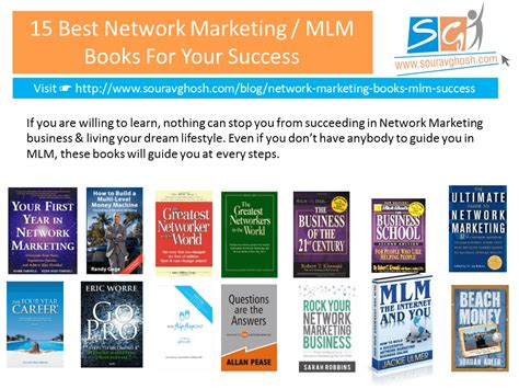 the marketer books 15 best network marketing mlm books for your success