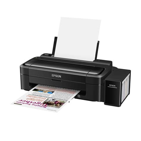 color printers epson l130 single function inkjet color printer black