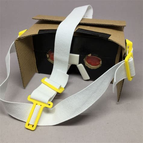 Headstrap Cardboard fichier stl gratuit headstrap pour cardboard vr goggles