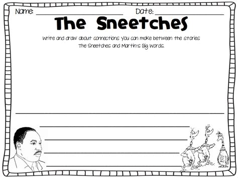 sneetches coloring page coloring home