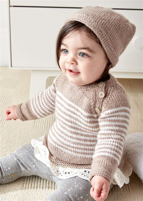 knit baby easy on pullovers for babies and children knitting