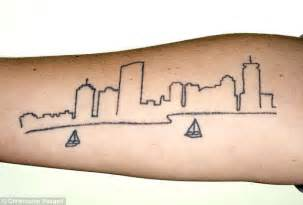 boston skyline tattoo 1000 images about boston inspiration on
