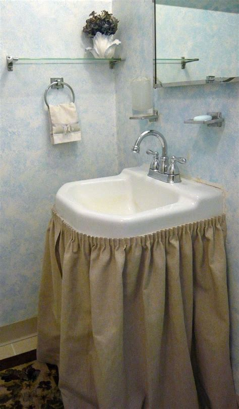 17 best ideas about bathroom sink skirt on pinterest sink skirt small bathroom decorating and