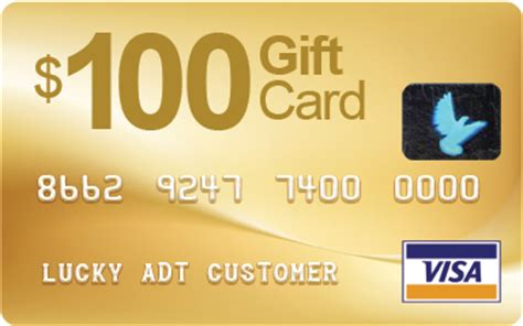 Adt Visa Gift Card Form - thank you for special internet offer home alarms from blue light security adt