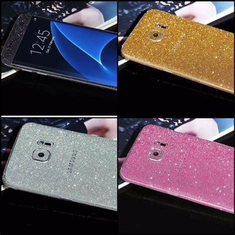 Samsung S6 Edge Skin Gliter Garskin Gliter Stiker Gliter 34 glitter samsung galaxy s7 s7 edge sticker skin for galaxy s7 s7 edge