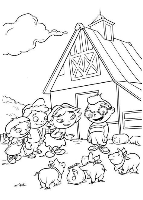 dibujos para colorear de little einsteins adisney little einsteins para colorear pintar e imprimir