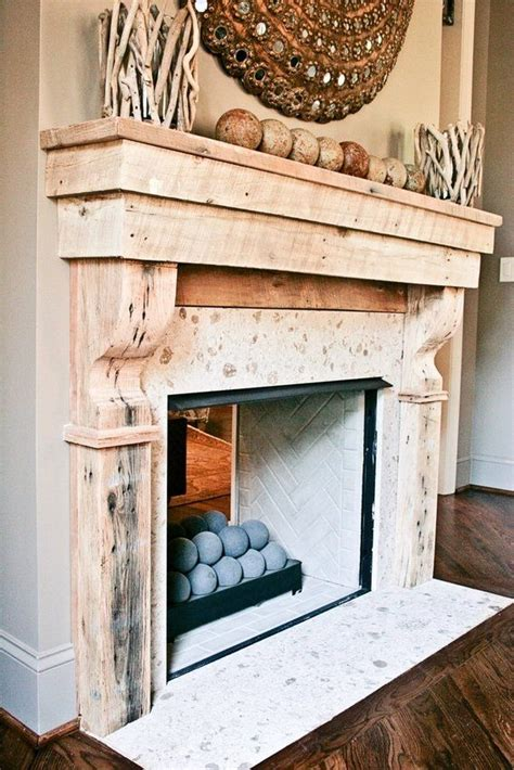 top fancy white and wood 25 best ideas about reclaimed wood mantle on