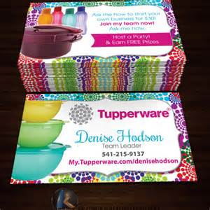 tupperware business cards tupperware business cards style 5 183 kz creative services