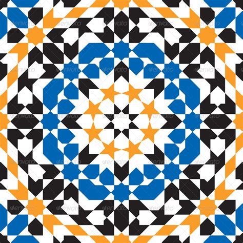 moroccan pattern name moroccan pattern 8 by dinoart graphicriver
