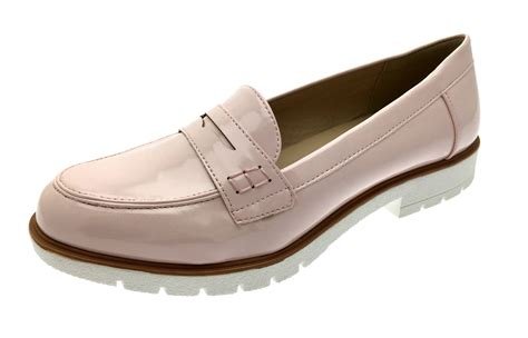 womens casual loafers womens slip on flat loafers faux leather moccasins