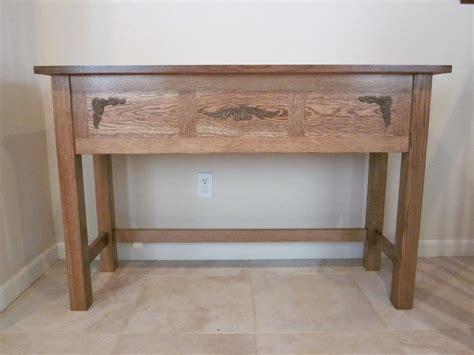 Oak Entry Table White Oak Entry Table By Jrwoodman Lumberjocks Woodworking Community