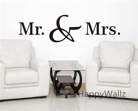 mr wall stickers mr mrs quotes wall stickers diy decorative mr mrs