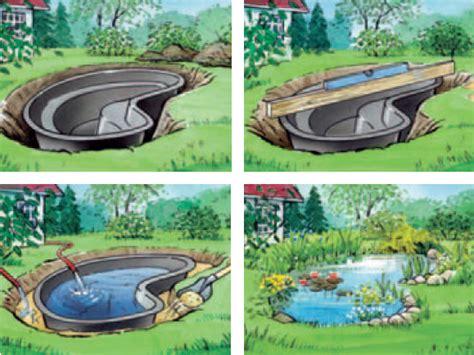 laghetto i giardini laghetto artificiale da giardino in pe riciclabile al ko