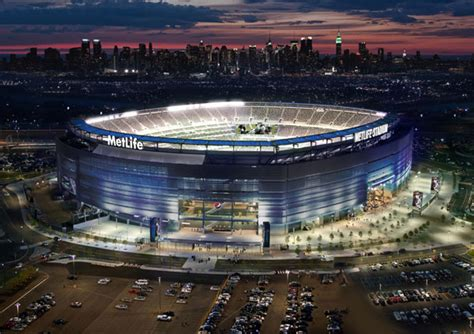 truck metlife stadium solar ring will power home of ny giants and ny jets nfl