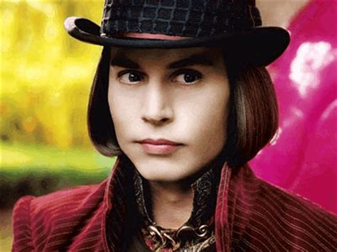 johnny depp  willy wonka  lilac purper
