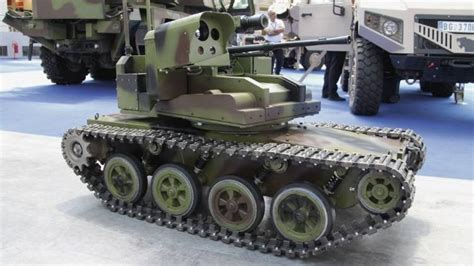 Kr01030 Unmanned Ground Vehicle Ugv Robot Car Chassis serbia presented the prototype of unmanned ground combat vehicles