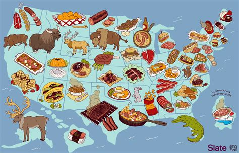 maryland food map united steaks of america map if each state could