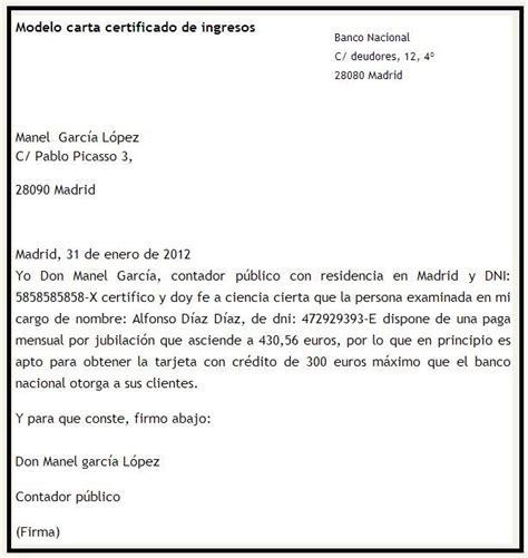 modelo carta de ingresos modelo de certificado de ingresos tattoo design bild