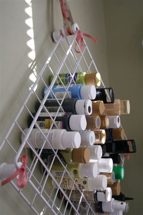 Rack Tutorial by The Craft Tutorial Wire Rack Paint Holder