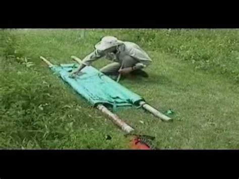 tarp stretcher wilderness  aid paul tarsitano