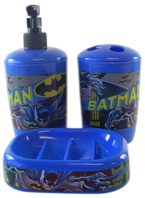 Dark Knight Batman Bathroom Accessories Set By Vslsigns On Batman Bathroom Accessories