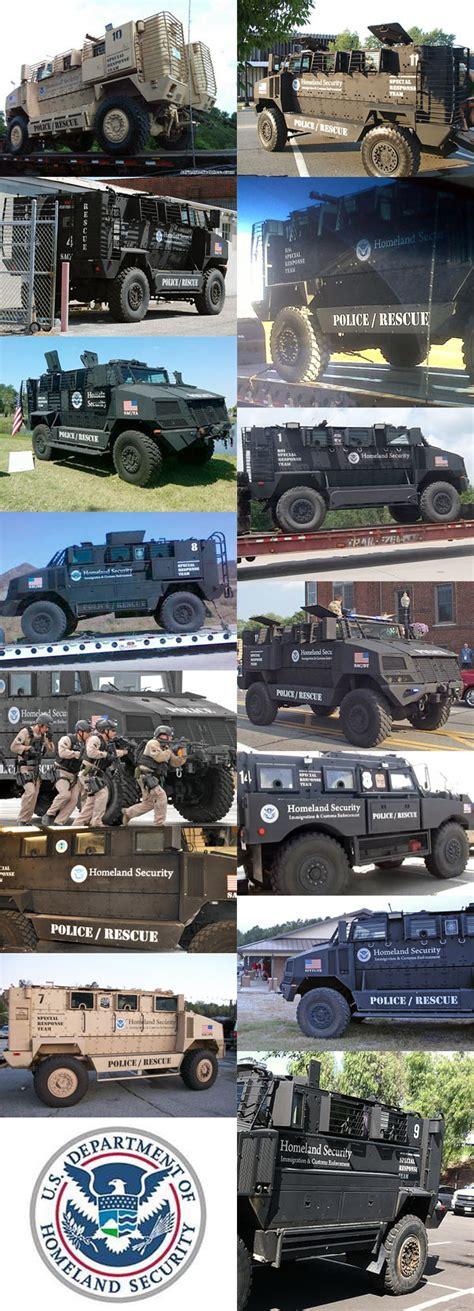 department of homeland security vehicles