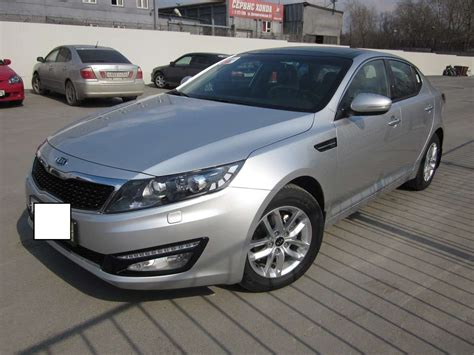 2012 Kia Optima Problems 2012 Kia Optima Pictures 2400cc Gasoline Ff Automatic