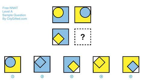 Free Nnat Sample Question 4 For Level A Kindergarten